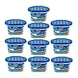 ANSIO Deshumidificador para interiores, removedor de condensación, absorbente de humedad,humedad, moho, humedad en el hogar, cocina, dormitorio, caravana, oficina, garaje, sótano 500 ml, paquete de 10