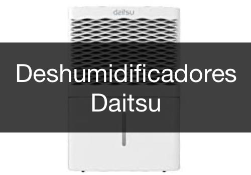Menu Deshumidificadores Daitsu