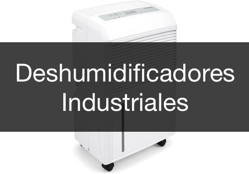 Menu Deshumidificadores Industriales